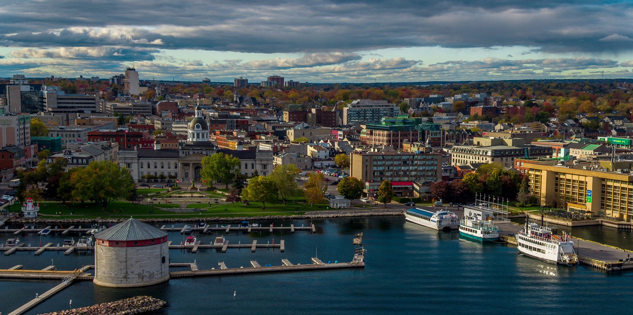 Kingston Waterfront by Kingston Drone Pros
