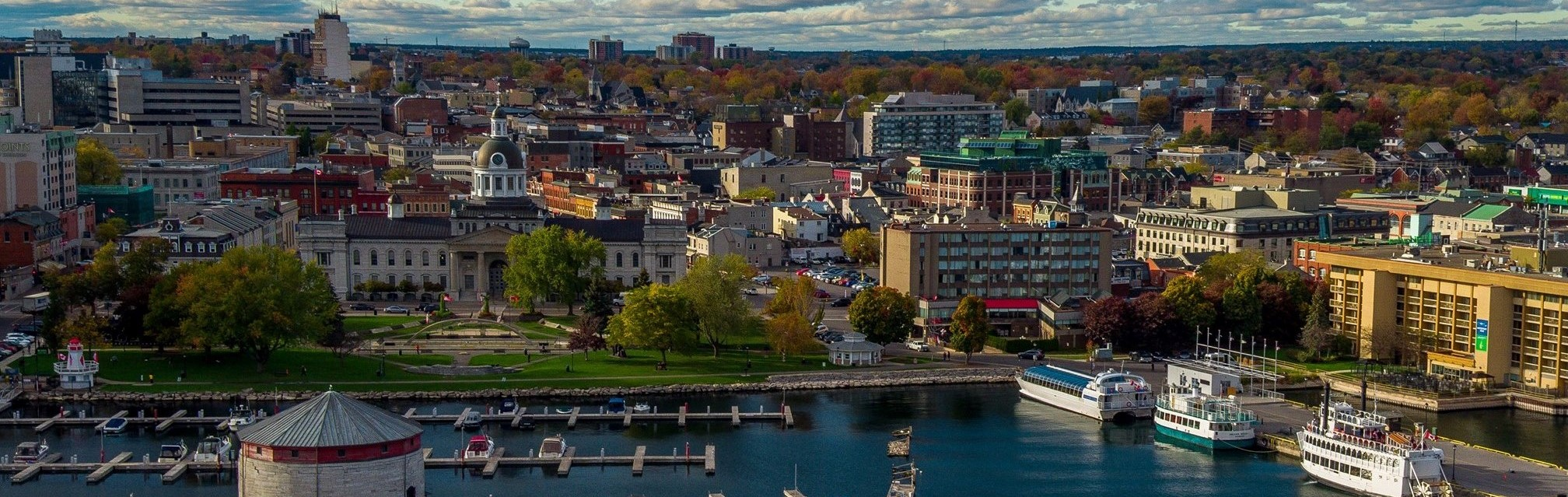 Kingston waterfront_by @DroneKingston